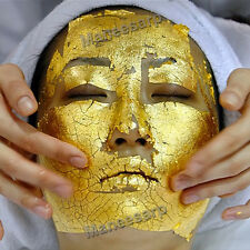 GOLD LEAF LIFTS & FIRMS YOUR SKIN TO REDUCE THE APPEARANCE OF FINE LINES 100pcs