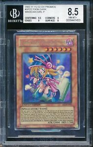 yugioh bgs 8 5 nm mint toon dark magician girl ultra rare holo sp2