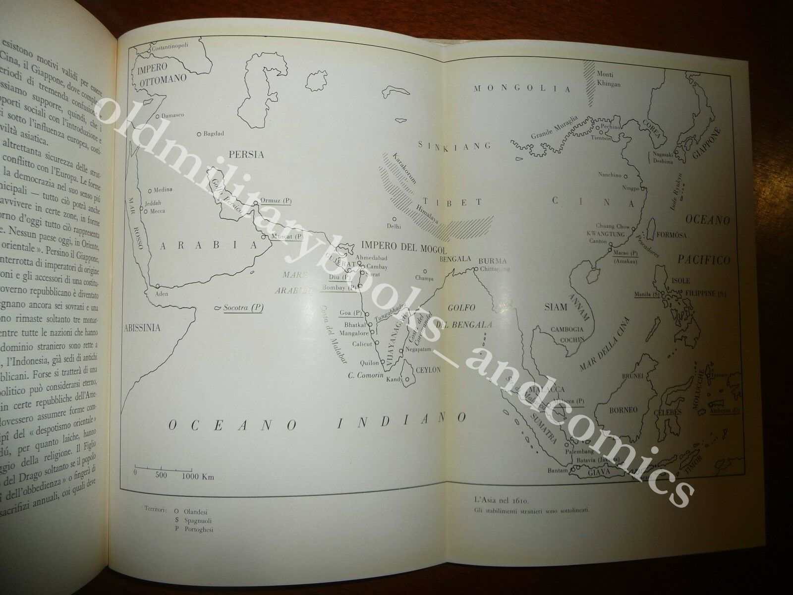 STORIA DELLA DOMINAZIONE EUROPEA IN ASIA KALAVAM M. PANIKKAR 1958 I^ Ed.