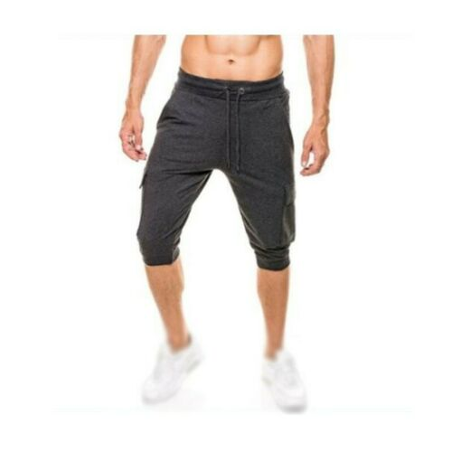 Herrenmode Sommer Kurze Hose Sport Jogger Jogginghose Bodybuilding Fitness Neu B