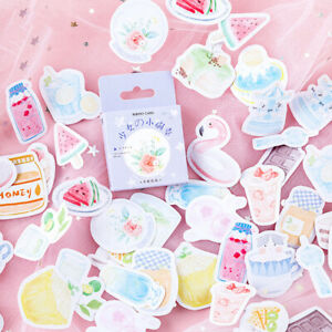 46pcs-Juice-Cake-Watermelon-DIY-Diary-Stickers-Lables-Gifts-Packaging-Decor