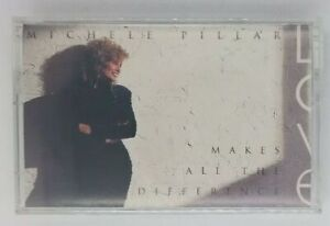 Michele Pillar Love Makes All the Difference Audio Cassette 1991 Urgent Records