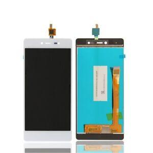 Ecran-a-Cristaux-Liquides-Tactile-Verre-pour-Wiko-Fever-4G-Noir-Blanc-Neuf