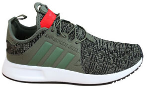 4ad3e88c234b0 Adidas Originals X PLR Juniors Kids Trainers Green Textile Lace Up ...