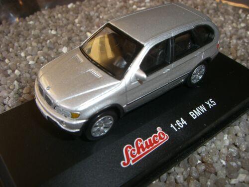 BMW X 5  silbermet SCHUCO 1:64