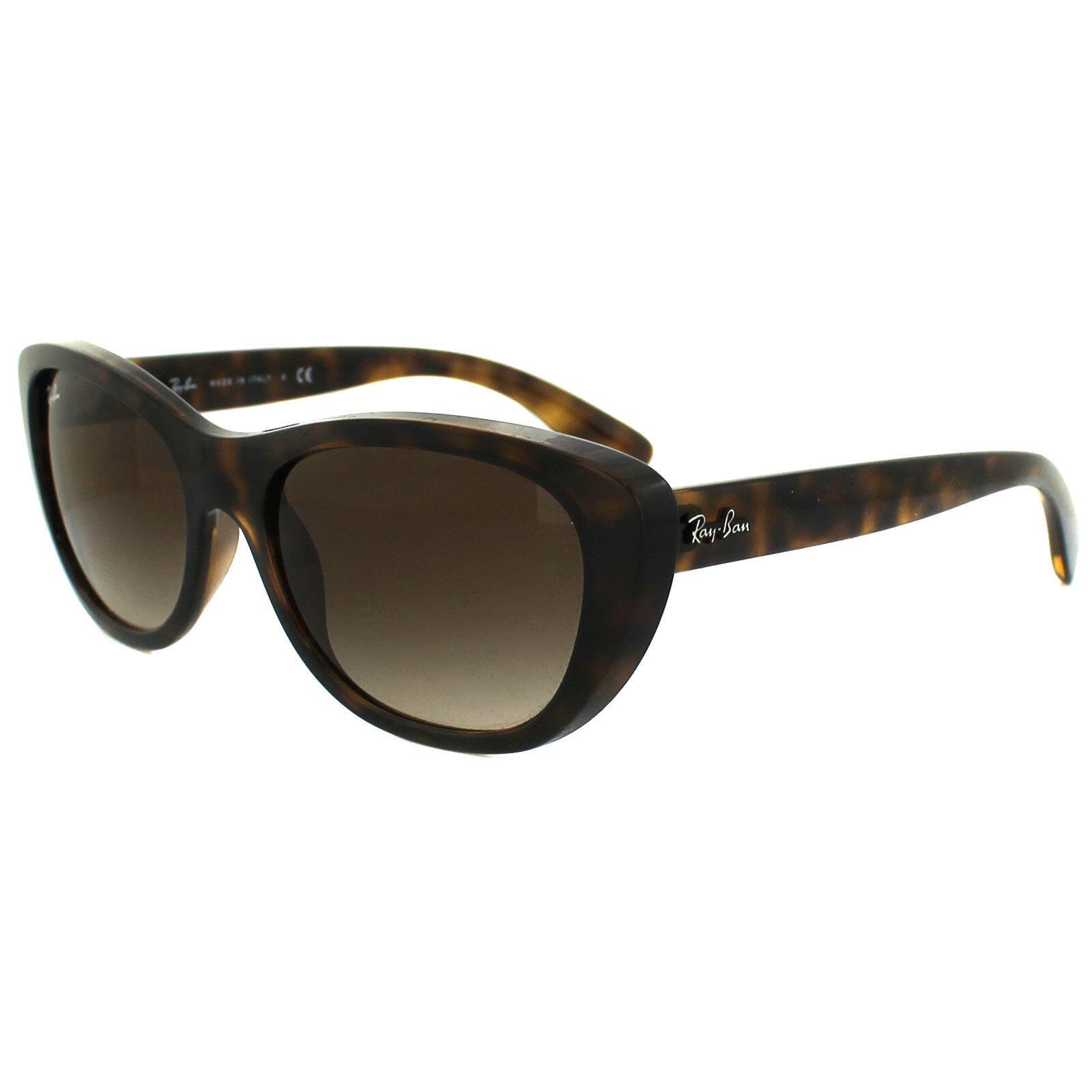 b0bd30e180 Genuine Ray-Ban Rb4227 710 13 55 Brown Gradient Lens Sunglasses - Tortoise