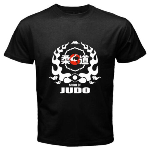 New Judo Grapling Martial Arts Logo Black T-Shirt Size S M L XL 2XL 3XL