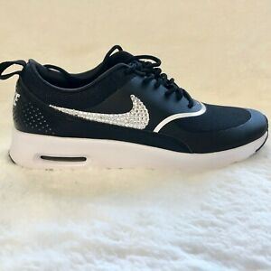 SIZE 8.5 Swarovski Nike Shoes Air Max Thea Running Shoes