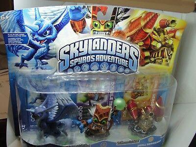 Whirlwind sargento Double Trouble Skylanders Spyro Adventure Triple Pack