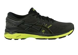 Asics-Men-039-s-Gel-Kayano-24-Running-Shoes-NEW-AUTHENTIC-Black-Green-T749N-9085