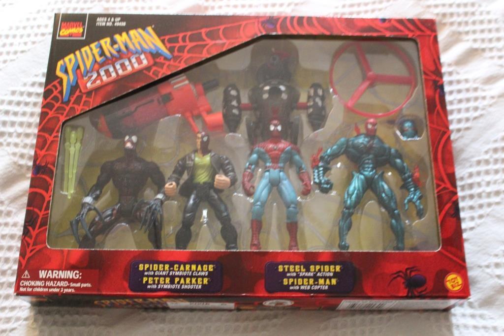 Spider - man 2000 festgelegten zahl - marvel - comics - sehr selten.