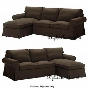 Image is loading NEW-Ikea-Ektorp-Cover-for-Sectional-Loveseat-with-  sc 1 st  eBay : loveseat chaise lounge - Sectionals, Sofas & Couches