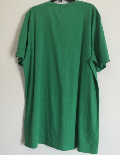 Green Size: Large                          B-5 Men/'s Heather Logo Tee Puma