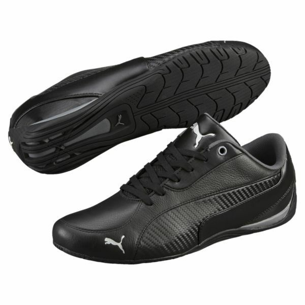 NIB MENS PUMA DRIFT CAT 5 CARBON BLACK F1 DRIVER MOTORSPORT FASHION SNEAKER SHOE