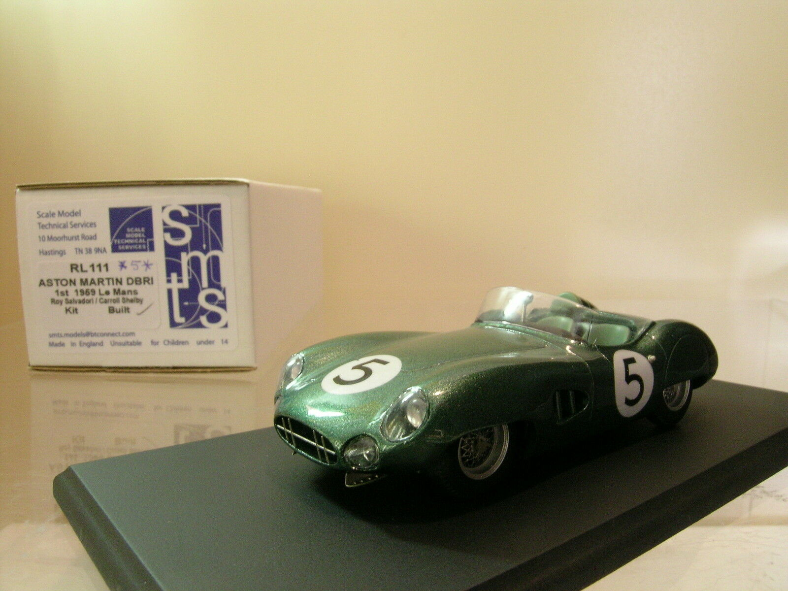 SMTS-MODELS RL111 ASTON MARTIN DBR1 1ST LEMANS 1959 *5* BOXED 1:43