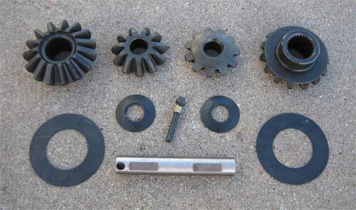 """Rearend 8.8/"""" Ford Spider Gear Kit 31 Spline Axle NEW 7//8/"""" Cross Pin"""