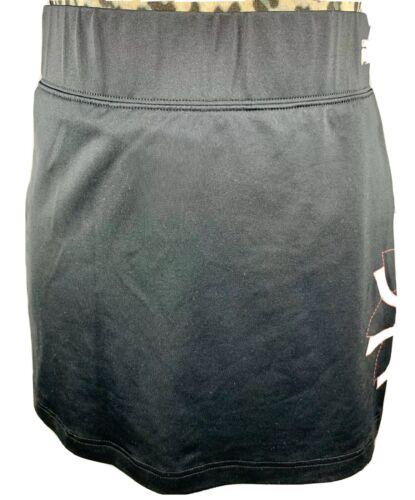 Women's Fila Black Sport Skort Skirt Shorts Run Te