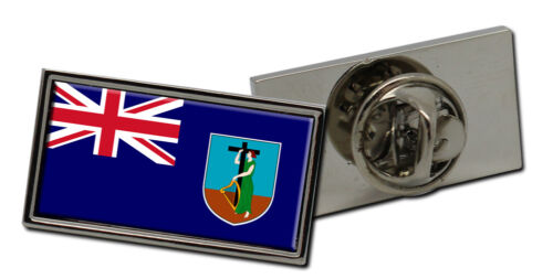 Montserrat Flag Lapel Pin Badge