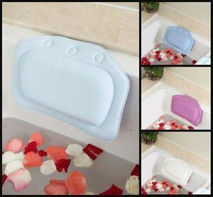 Bathtub Bath Pillow Bathroom Headrest Gift Diy Neck