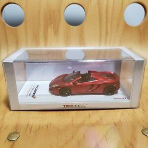 1/43 True Scale TSM McLaren MP4 12C Spider Metallic Red bbr mr minichamps kyosho