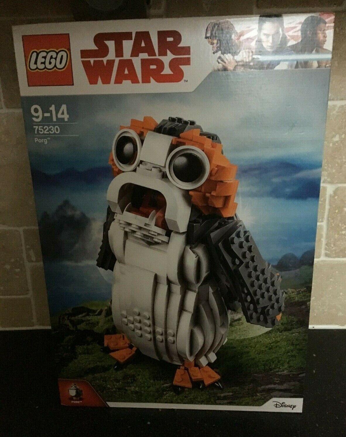LEGO STAR WARS - 75230 Porg Brand New In Sealed Box