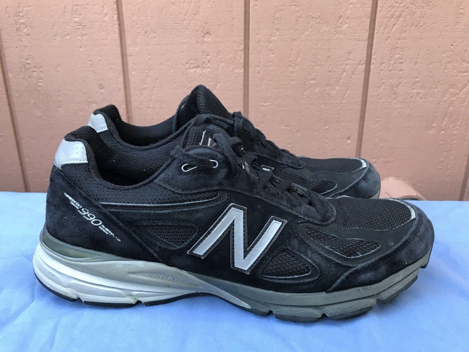 New Balance hombres nosotros 12D v4 Corriendo zapatos A5 negro / blanco mbk4 A5 zapatos 741867