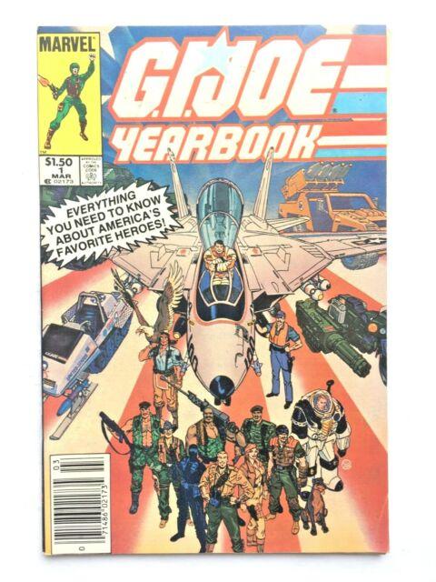 G.I. Joe Yearbook # 1 Marvel Comics 1985 Newsstand Edition
