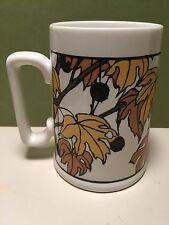 Peet's Coffee & Tea Mug Cup AUTUMN LEAF Yoshiko Yamamoto Arts & Crafts Press