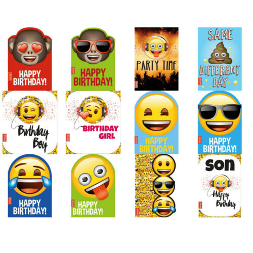 Emoji Greeting /& Birthday Cards