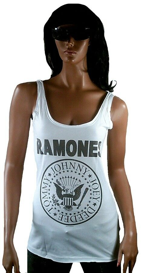Amplified RAMONES Hey Ho Let's Go Tunk TANK TOP SHIRT XS S