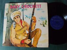 DAVY CROCKETT avec CLAUDE DAUPHIN, JEAN GRAS - LP 33T LE PETIT POUCET PP 54