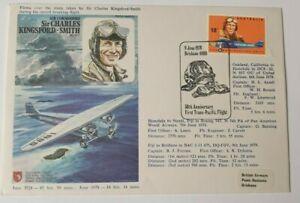 1978 AIR COMMODORE  COMMEMORATIVE COVER brisbane