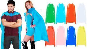 Super Hero Cape Plain Bande Dessinée Robe Fantaisie Unisexe Hommes Femmes Costume-afficher Le Titre D'origine Vente Chaude 50-70% De RéDuction