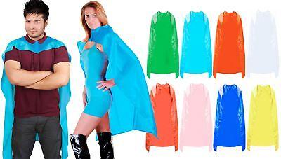 Cordiale Super Eroe Cape Plain Fumetto Unisex Costume Costume Da Uomo Donna-mostra Il Titolo Originale