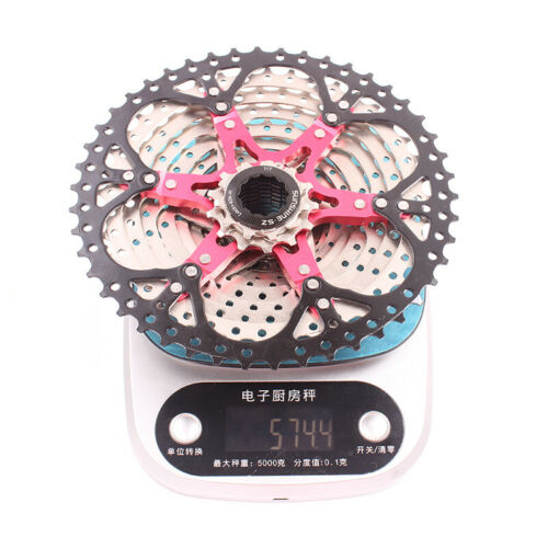Durable Bike Bicycle 12 Speed Cassette 11-46T MTB Mountain Flywheel Steel/& AL