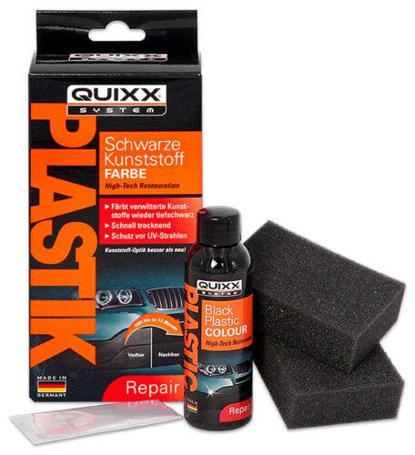 QUIXX Schwarze Kunststoff-Farbe