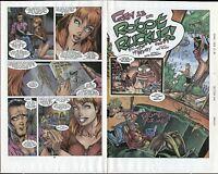 J. SCOTT CAMPBELL 1995 GEN 13 #3 ORIGINAL COMIC PROOF PAGE PRODUCTION ART GEN13