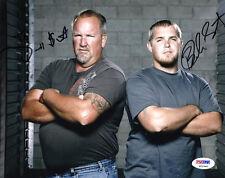Darrell & Brandon Sheets DUAL SIGNED 8x10 Photo STORAGE WARS PSA/DNA AUTOGRAPHED