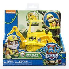 PAW PATROL Jungle Rescue veicolo - RUBBLE'S GIUNGLA BULLDOZER NUOVO