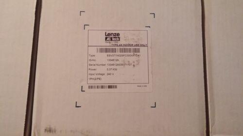 NEW - LENZE / AC TECH VFD ESV371N02SFC, 240VAC, 3PH, N4X - 64 Available