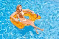 Intex 2 X Sit 'n Float Inflatable Raft Swimming Pool Tube Lounge (1334ab)