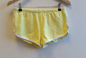 Ladies-Asos-Shorts-Size10-Yellow-lt-B3181