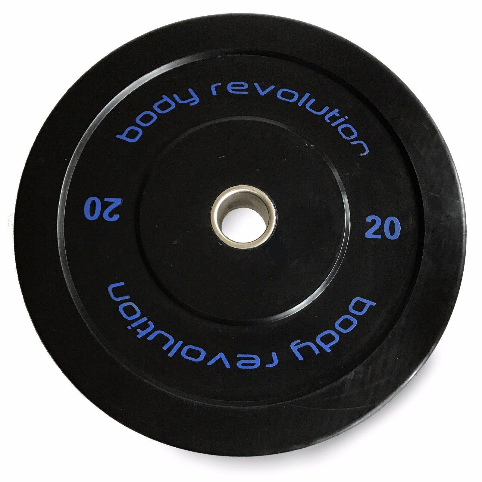 Olympische Stoßfänger für 5.1cm Riegel - Gummi Gewicht Scheibe Scheibe Scheibe e102ba