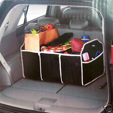 2-in-1 Car Boot Organiser Foldable Shopping Travel Car Space Saving Storage Bag