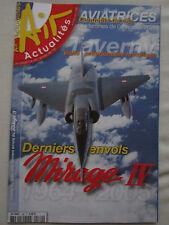 AIR ACTUALITES 580 DASSAULT MIRAGE IV FAS TAVERNY CLIPPERTON ROZANOFF FEMMES