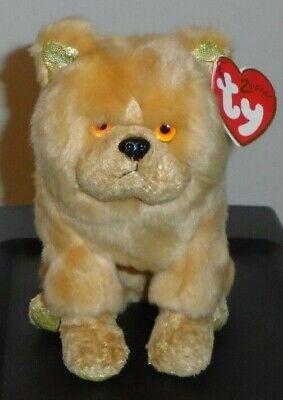 - MWMTs Stuffed Animal Toy 6 inch TY Beanie Baby THE DOG Chinese Zodiac
