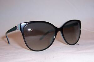 a256a81ecbd NEW TIFFANY   CO SUNGLASSES TF 4089B 80553C BLACK AZURE GRAY ...