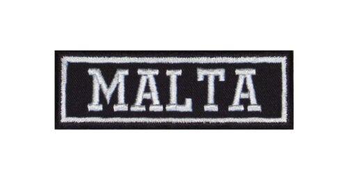 Malta Biker Patch ricamate moto MC Club Rocker tonaca Heavy BADGE IRON