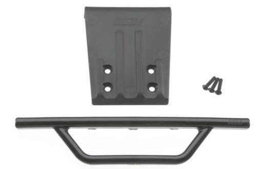 RPM 80952 Front Bumper /& Skid Plate Black Traxxas Slash