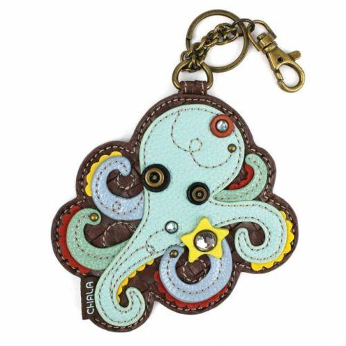 Octopus Key Fob Coin Purse Chala